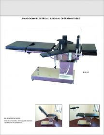 Up and Down Electrical Surgical Table
