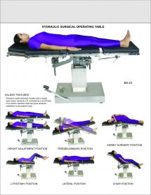 Hydraulic Surgical Table